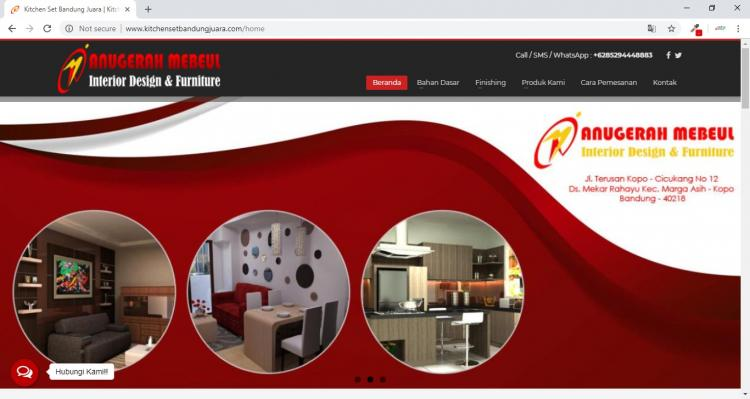 Anugerah Mebeul, Jasa Pembuatan Website Jogja, Jasa Buat Website Jogja