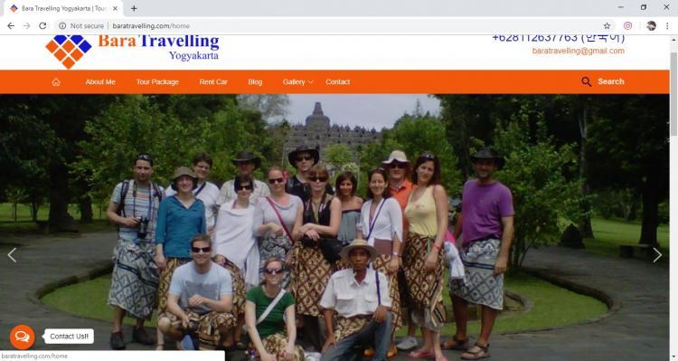 Bara Traveling Yogyakarta, Jasa Pembuatan Website Jogja, Jasa Buat Website Jogja