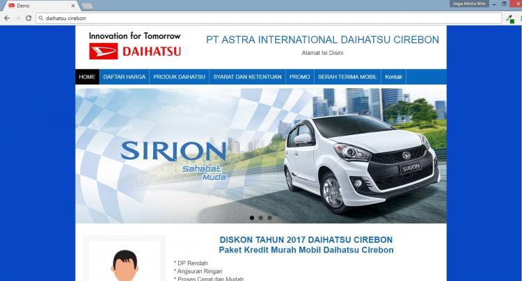 Daihatsu Cirebon, Jasa Pembuatan Website Jogja, Jasa Buat Website Jogja