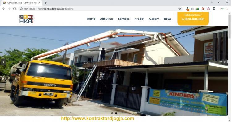 Kontraktor Yogyakarta | PT. Harizqy Kurnia Abadi (HKA), Jasa Pembuatan Website Jogja, Jasa Buat Website Jogja