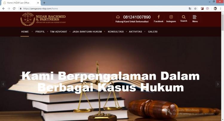Nizar Bachmid & Partners, Jasa Pembuatan Website Jogja, Jasa Buat Website Jogja