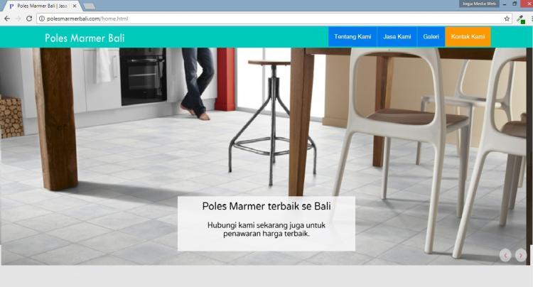 Poles Marmer Bali, Jasa Pembuatan Website Jogja, Jasa Buat Website Jogja