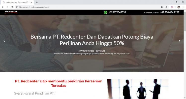 Red Center, Jasa Pembuatan Website Jogja, Jasa Buat Website Jogja