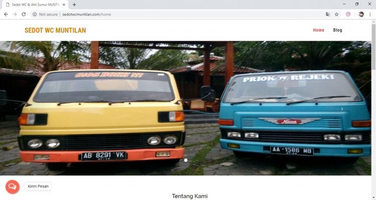 Sedot WC Muntilan, Jasa Pembuatan Website Jogja, Jasa Buat Website Jogja