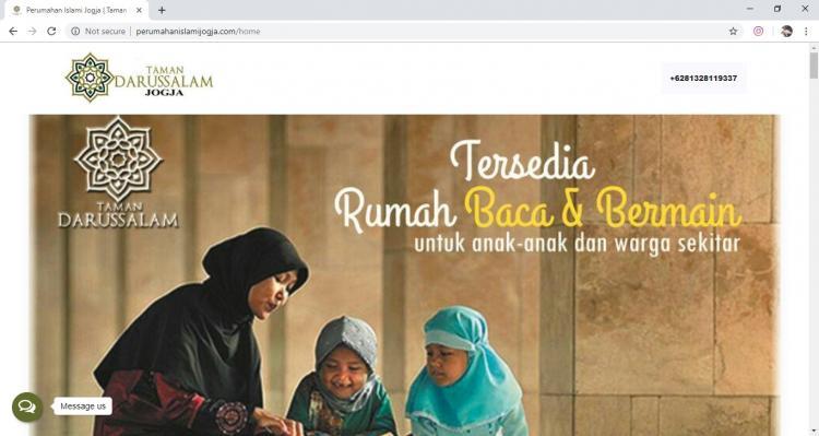 Taman Darussalam Jogja, Jasa Pembuatan Website Jogja, Jasa Buat Website Jogja