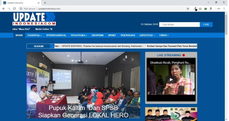 Update Indonesia, Jasa Pembuatan Website Jogja, Jasa Buat Website Jogja