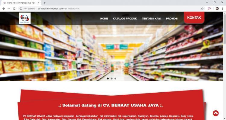 Berkat Usaha Jaya, Jasa Pembuatan Website Jogja, Jasa Buat Website Jogja