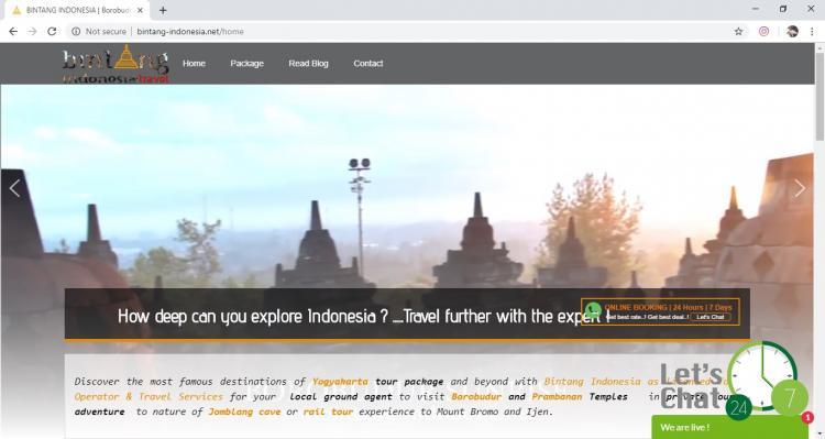 Bintang Indonesia, Jasa Pembuatan Website Jogja, Jasa Buat Website Jogja