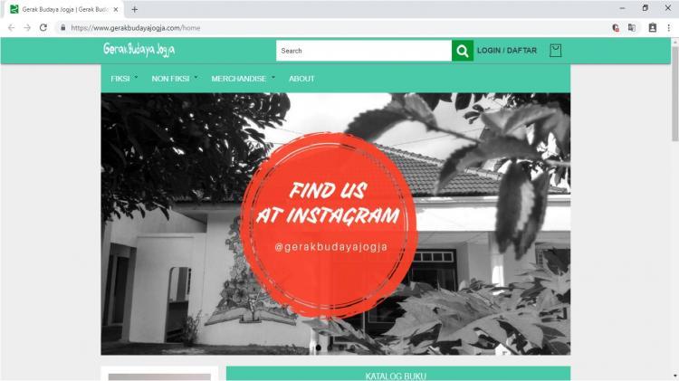Gerak Budaya Jogja, Jasa Pembuatan Website Jogja, Jasa Buat Website Jogja