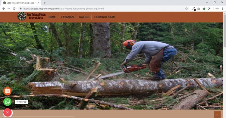 Jasa Tebang Pohon Jogja : Jasa Pangkas Pohon Yogyakarta : Mbah Sahro, Jasa Pembuatan Website Jogja, Jasa Buat Website Jogja