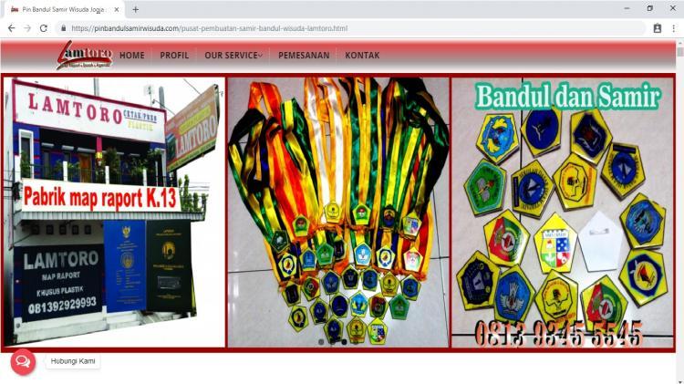 Lamtoro Bandul Wisuda dan Samir, Jasa Pembuatan Website Jogja, Jasa Buat Website Jogja