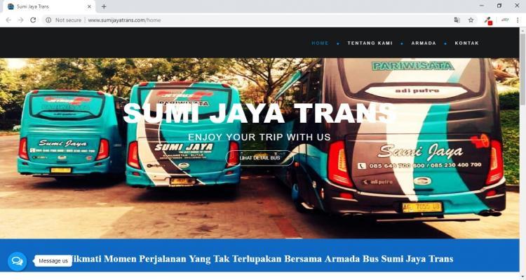 Sumi Jaya Trans, Jasa Pembuatan Website Jogja, Jasa Buat Website Jogja