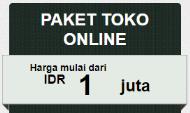 PAKET TOKO ONLINE, Jasa Pembuatan Website Jogja, Jasa Buat Website Jogja